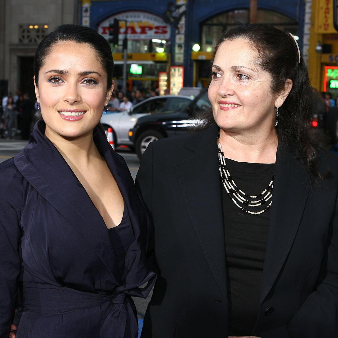 Salma Hayek and her mother Diana Jiménez Medina