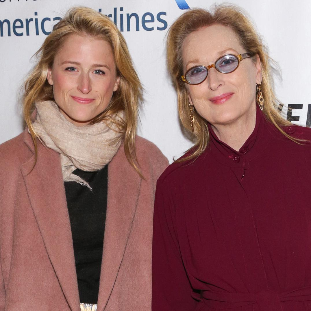 Actor Meryl Streep and Mamie Gummer