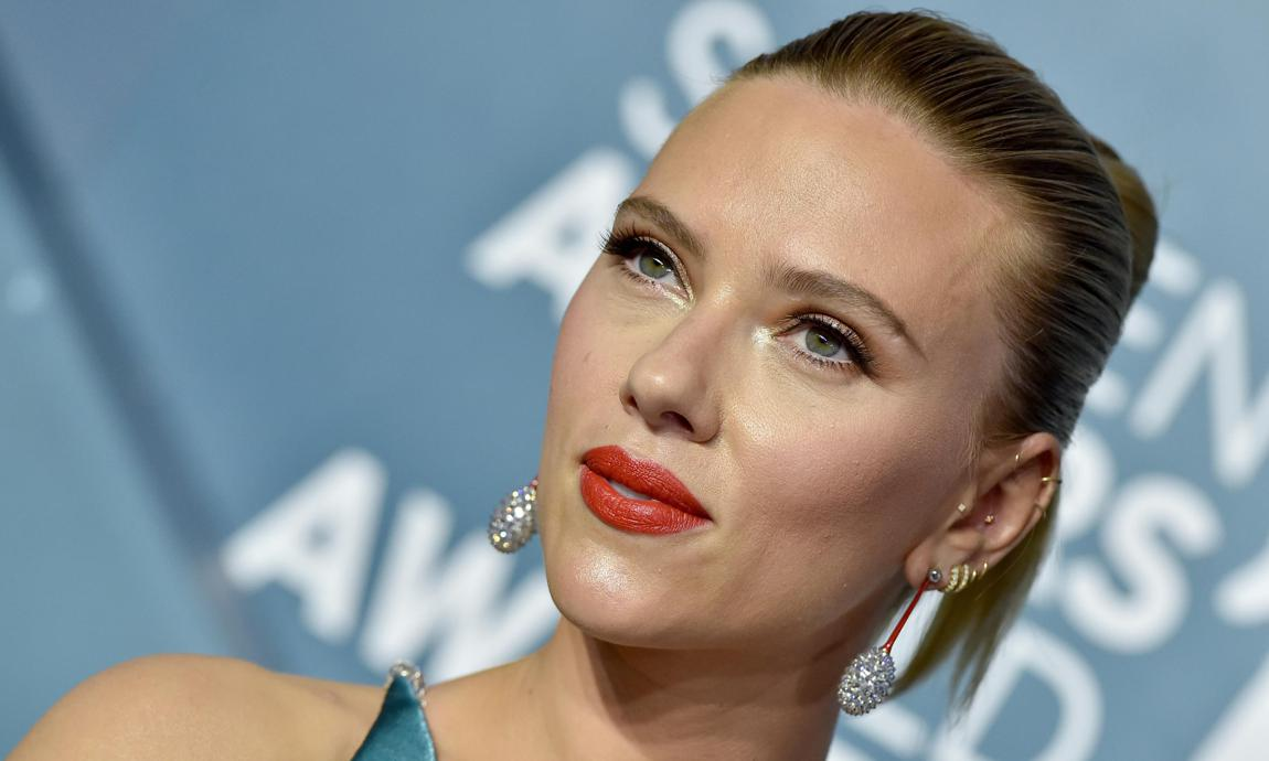 Scarlett Johansson y su truco para agrandar la mirada