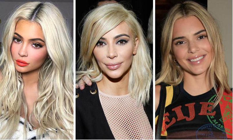 The Kardashian-Jenner sisters have gone for blonde at various stages