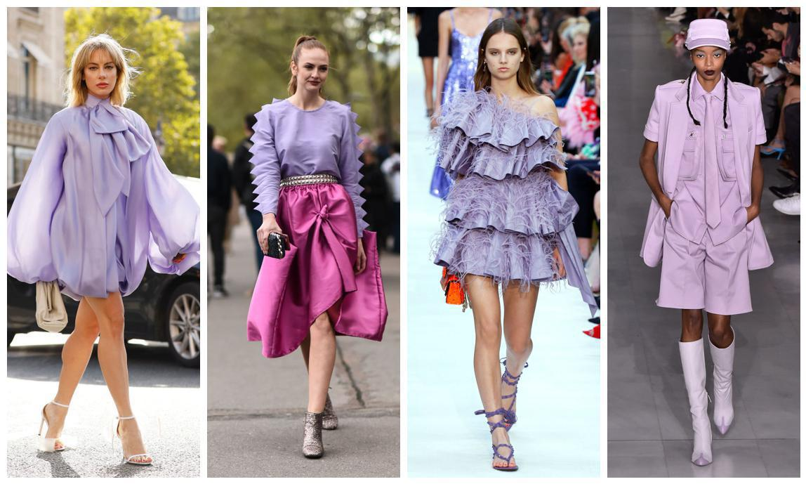 Fashion trends 2020: Millennial purple is the color of the season ...
