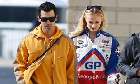 Sophie Turner and Joe Jonas hold hands during romantic stroll in Barcelona