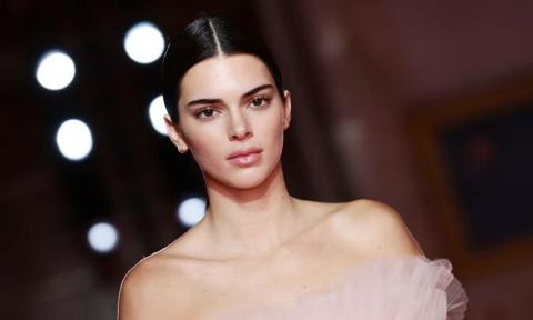 Kendall Jenner in a 2019 fashion show