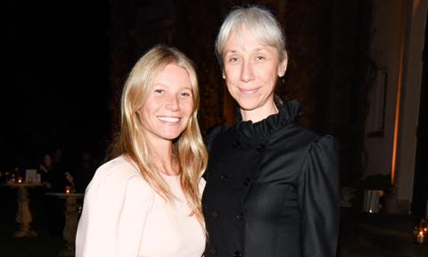 Gwyneth Paltrow hosted a no makeup party that Alexandra Grant attended