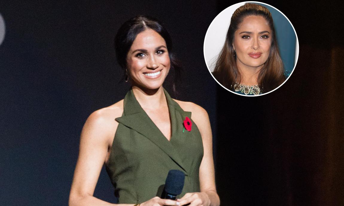 Meghan Markle will be in London at the time of Salma Hayek's British Vogue event