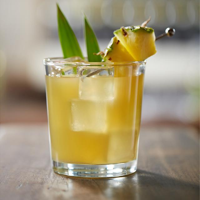 Hornitos® Black Barrel® Tequila Pineapple Fizz cocktail