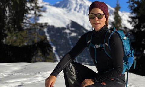 Crown Princess Mary shared new personal photos from life in Switzerland