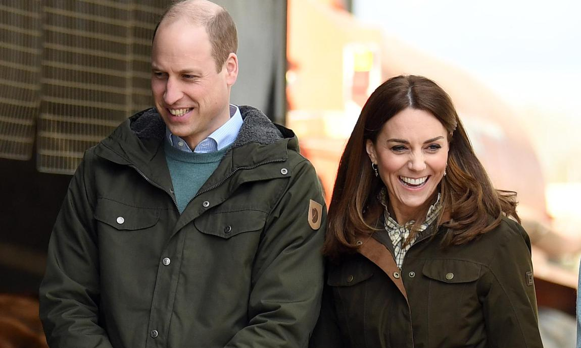 Kate and William's shop for groceries in Ireland