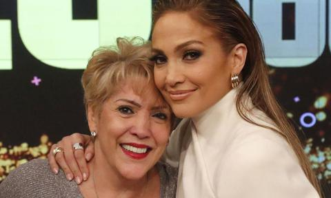 Jennifer Lopez with mom Guadalupe