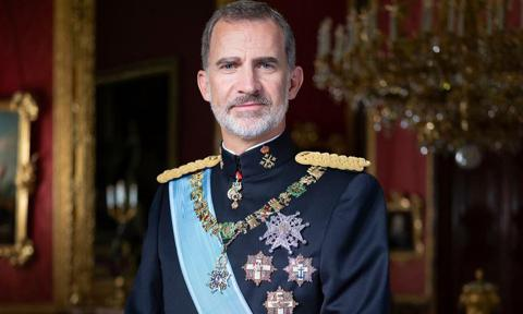 Spanish Royal family new official pictures King Felipe