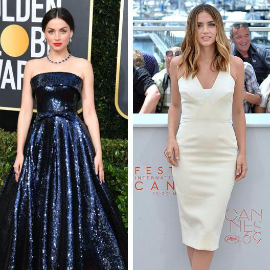 Ana de Armas shows her daring side with each one of her red carpet looks