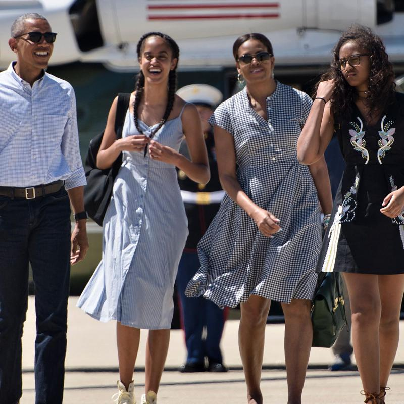 Sasha Obama, Malia Obama home,