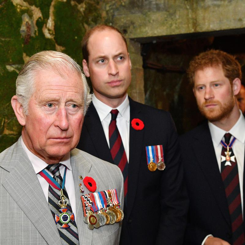 Prince Charles told William and Harry he has coronavirus on the phone
