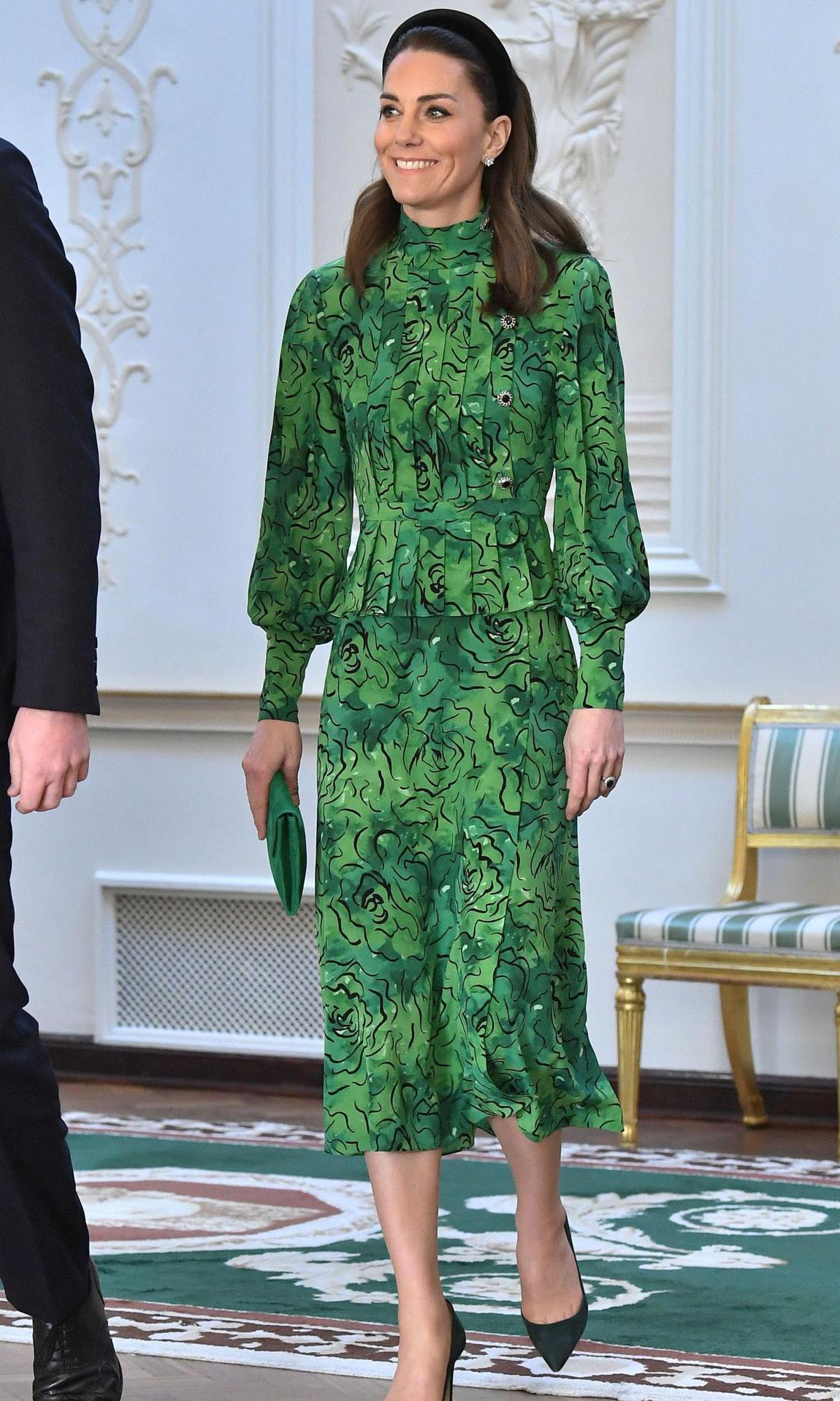 Visite du duc et de la duchesse de Cambridge en Irlande - Premier jour