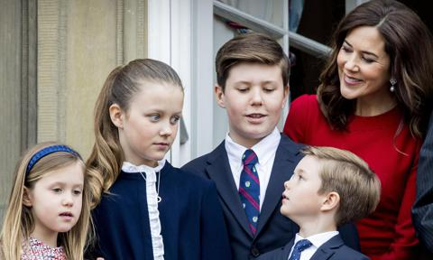 Crown Princess Mary's children talk homeschool in wake of coronavirus