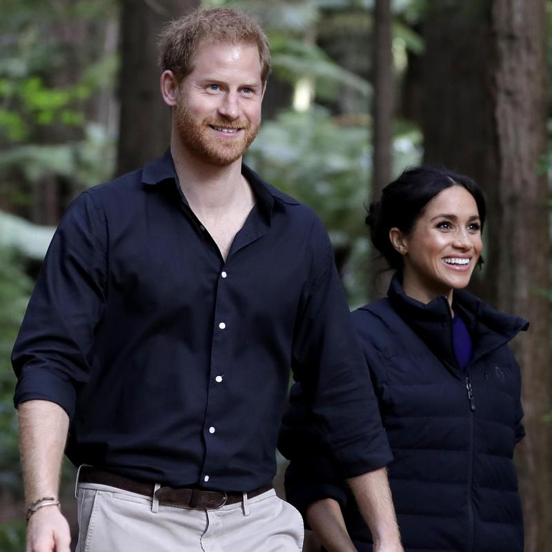 The major detail in Meghan Markle, Prince Harry's goodbye message