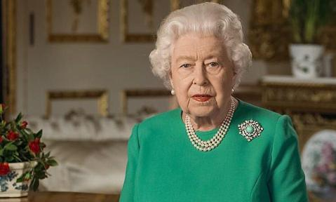 Queen Elizabeth during coronavirus speech