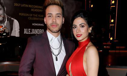 Prince Royce and Emeraude Toubia married