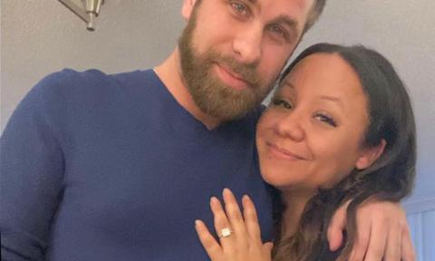 Courtney Roker engaged
