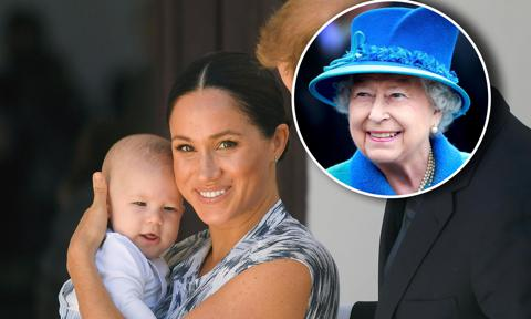 Meghan Markle and baby Archie video call Queen Elizabeth for her birthday