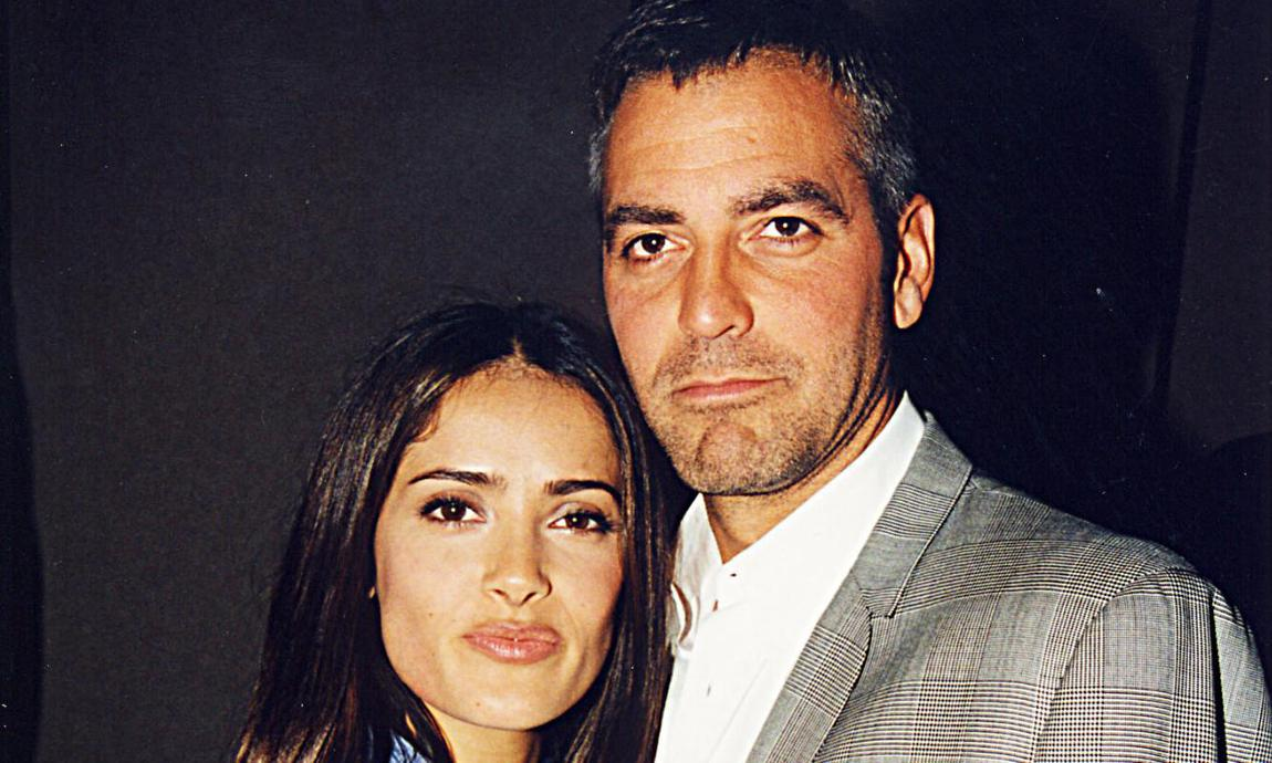 Salma Hayek posts old, old photo of herself with George Clooney Salma-hayek-and-george-clooney