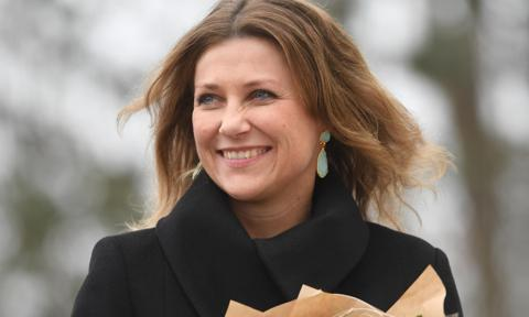 Princess Martha Louise reflects on daughter's darkest hour in moving birthday tribute