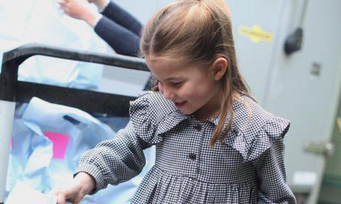 Princess Charlotte volunteers in new photos released to celebrate her 5th birthday