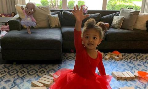 Serena Williams' daughter Olympia and her doll Qai Qai