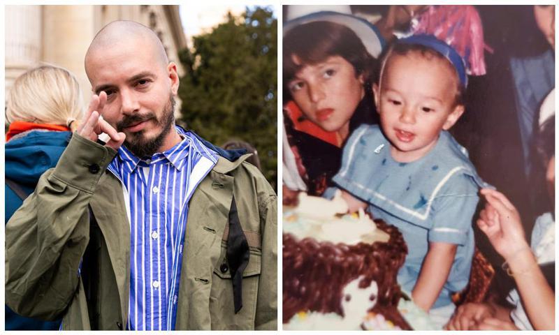 J Balvin celebrates 35th birthday with sweet throwback