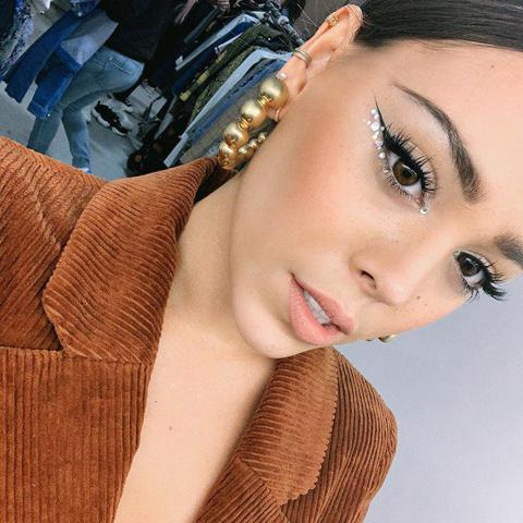 Danna Paola y las tendencias de maquillaje del momento - Foto 1