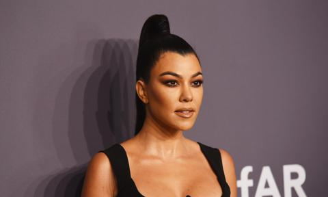 Kourtney Kardashian en la amfAR New York Gala 2019