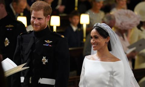 Detail missed from Meghan Markle and Prince Harry's royal wedding