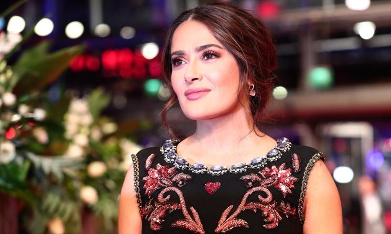 Salma Hayek shares rare photo with brother and they look like twins