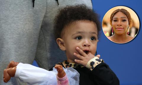 Serena Williams' daughter just discovered a soft-boiled egg