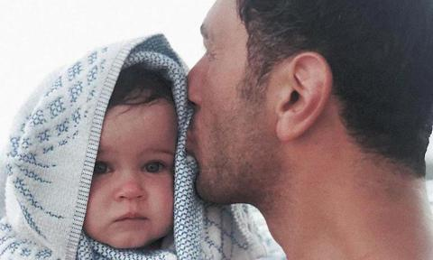 ricky martin, baby daughter