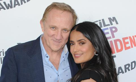 Salma Hayek and husband François-Henri Pinault