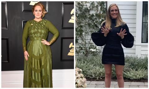 Adele broke the Internet on her 32nd birthday when she revealed her new body, much leaner than in 2019