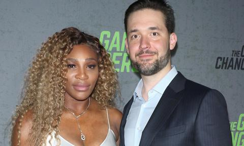 "Tennis player Serena Williams and Alexis Ohanian attend the ""The Game Changers"" New York premiere"