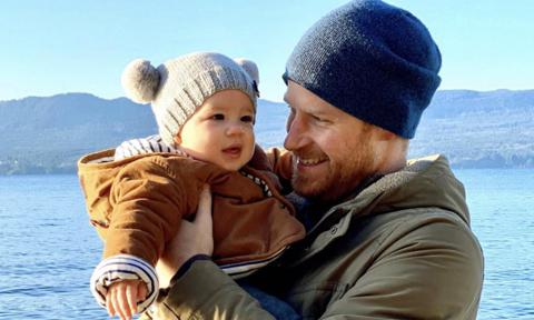 Prince Harry was ready for fatherhood at his first solo royal engagement 12 years go