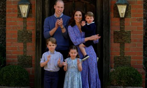 Prince William leaves Kate and kids at home for first in-person engagement in months