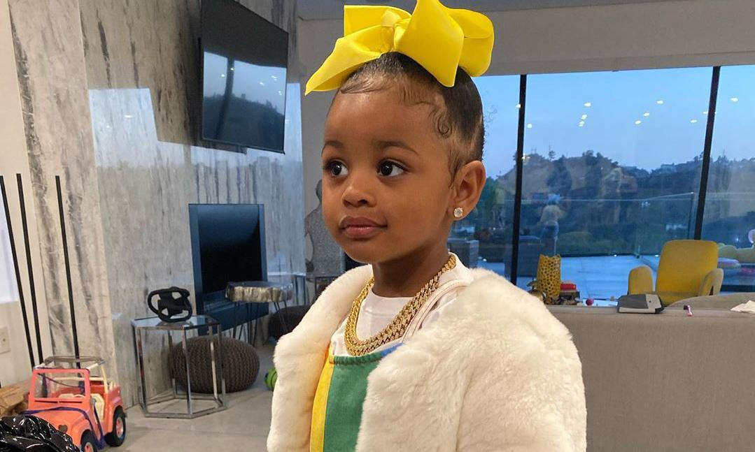 Cardi B's daughter Kulture is rocking some serious diamond bling