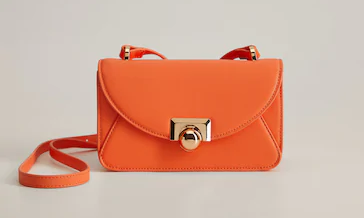 Buckled Cross-Body Bag from Mango