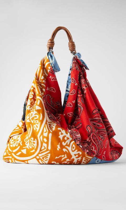 Scarf Shoulder Bag from Zara