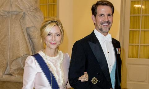 Crown Princess Marie-Chantal and Crown Prince Pavlos celebrate anniversary with romantic tributes