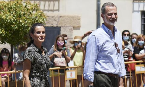 Queen Letizia has found the perfect summer jumpsuit and it costs less than $100