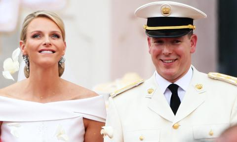 Monaco's Princess Charlene and Prince Albert celebrate anniversary with new family portrait