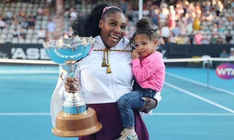 Serena Williams revealed that her daughter Olympia dresses her