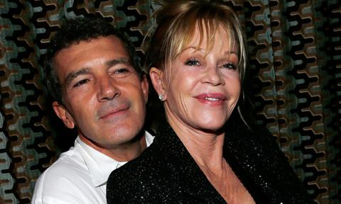 Melanie Griffith shares romantic photos starring Antonio banderas and other ex-husbands