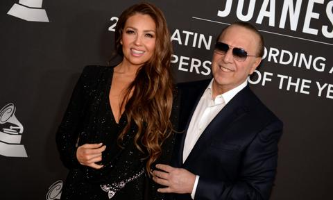 Thalia celebrates Tommy Mottola's Bday with a COVID-19 Update