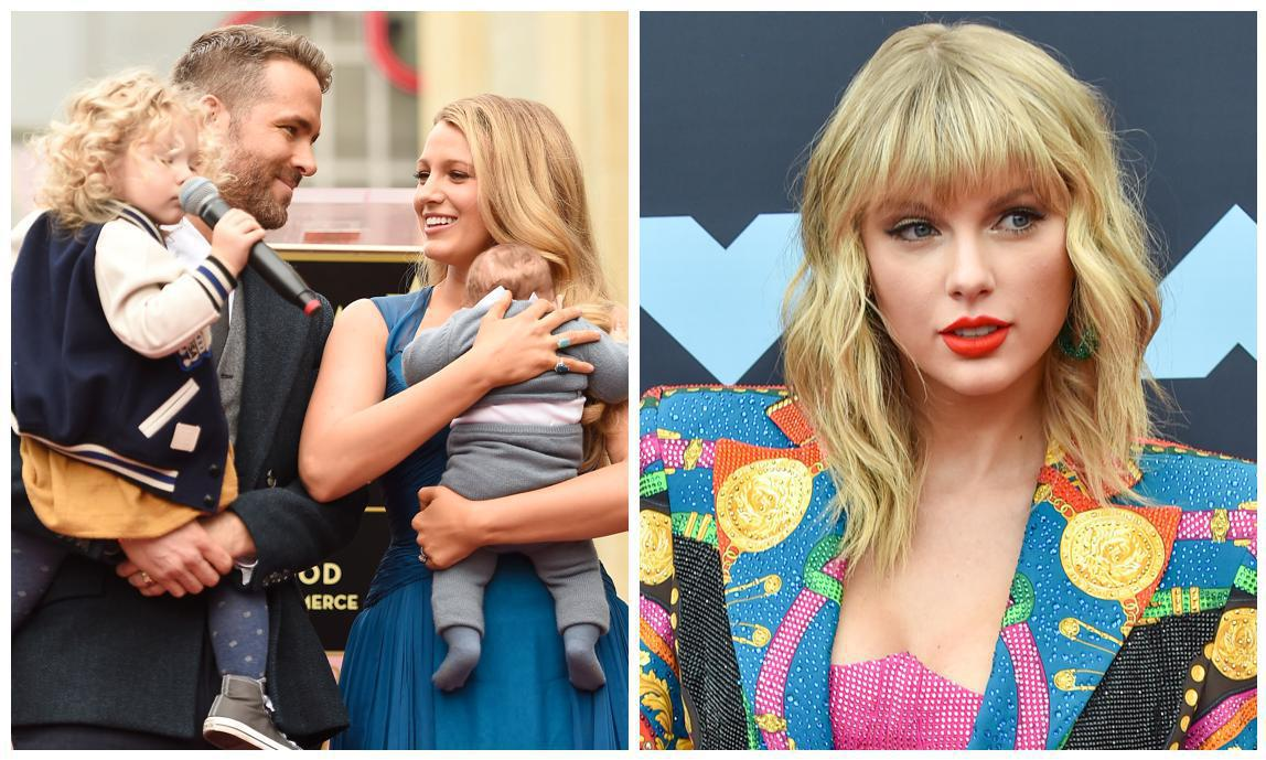 Blake Lively And Ryan Reynolds Child S Name Revealed By Taylor Swift